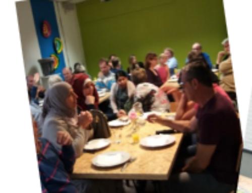Integratie Diner – samen eten – 11 oktober 2018