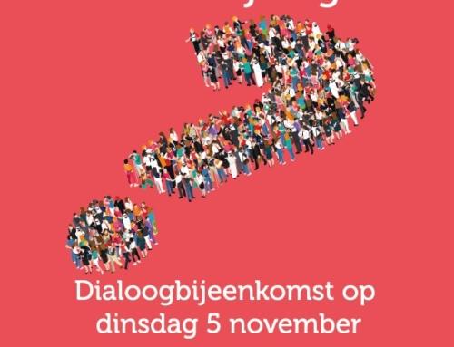 5 november dialoog bijeenkomst